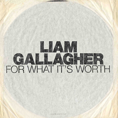 For What It's Worth - id artist title duration ### 1272 Liam Gallagher For What It's Worth 244930 - Liam Gallagher